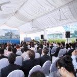 Groundbreaking of Pratt & Whitney Singapore 2013