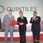Official Opening of Quintiles Asia-Pacific Headquarters - Ribbon Cutting