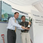 Thales Grounbreaking Ceremony - Champagne Launch