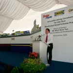 Warehouse Retail Scheme Groundbreaking - Speech