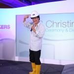 BTS Christina Renaming Ceremony 2014